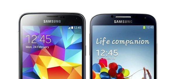 samsung GS5 vs GS4