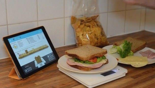 «умные весы» для iPad