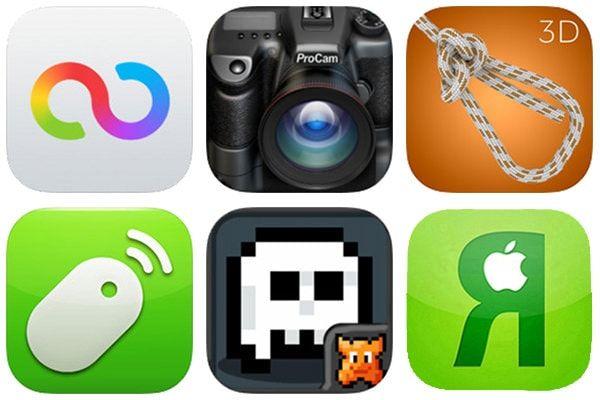 Скидки в AppStore на 12.04.14