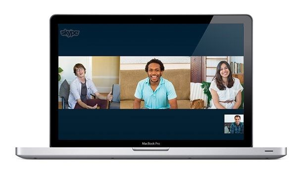 Груповые звонки в Skype