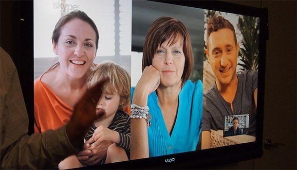 Груповые звонки в Skype на X-Box