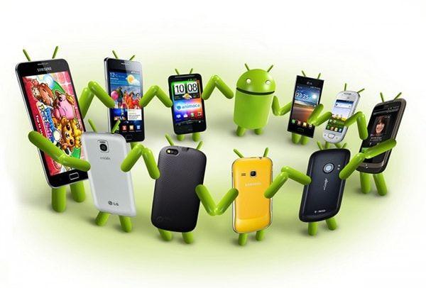Смартфоны Android занимают 80% рынка