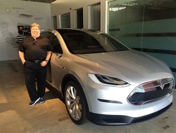 Tesla X Стива Возняка