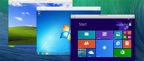 Windows XP, 7 и 8