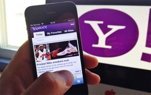 Yahoo хочет стать поиском по умолчанию в iOS