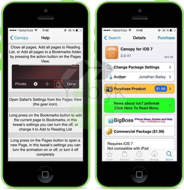 Canopy for iOS 7
