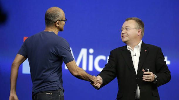 Nadella and Elop