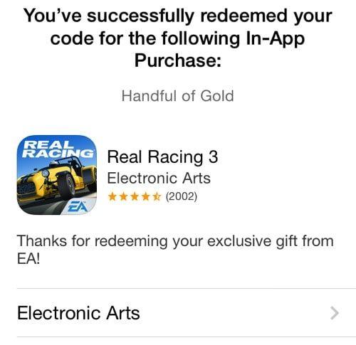 Real Racing 3 встроенные покупки