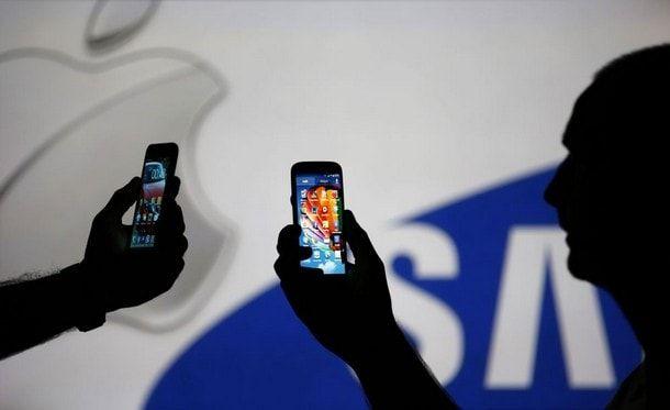 Патентный спор Apple и Samsung
