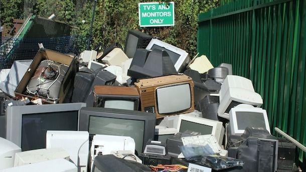 электронный мусор отходы