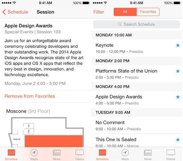 расписание WWDC 2014