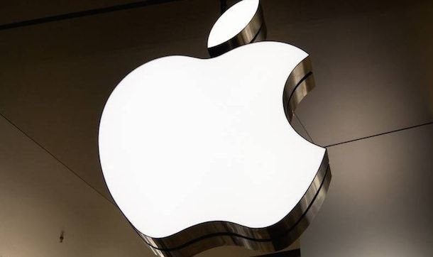 apple building gold logo