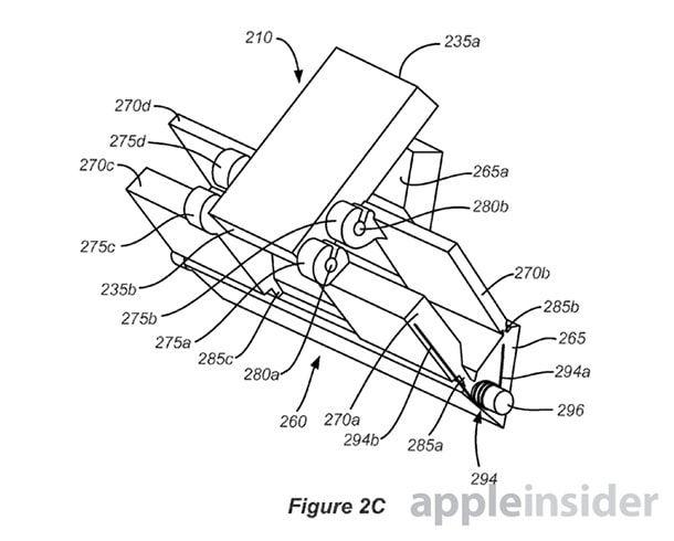 Патент прячущегося коннектора док-станции Apple