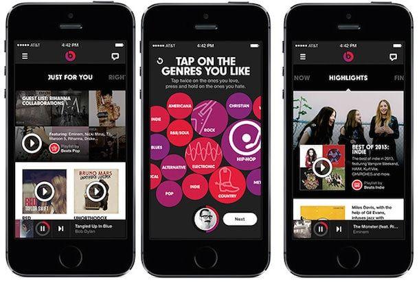 beats music для iPhone