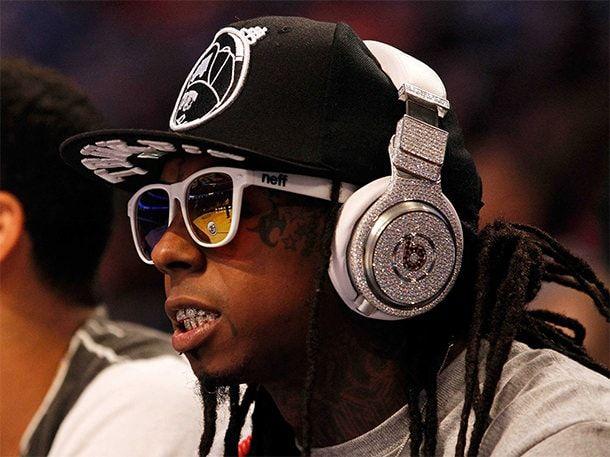 Lil Wayne в наушниках Beats