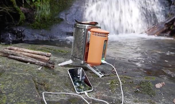 BioLite BaseCamp Stove печка с подзарядкой для iPhone
