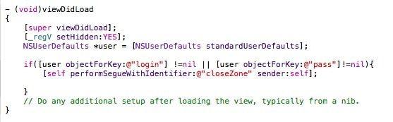 Код для перехода в закрытую зону