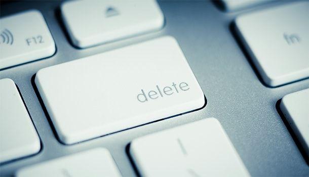Google позволит удалить пользовательские данные