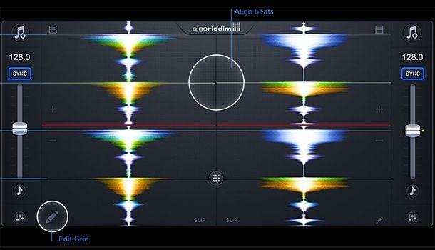djay 2 waveform
