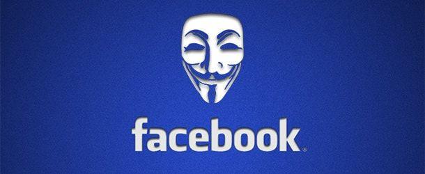 Анонимный вход Facebook