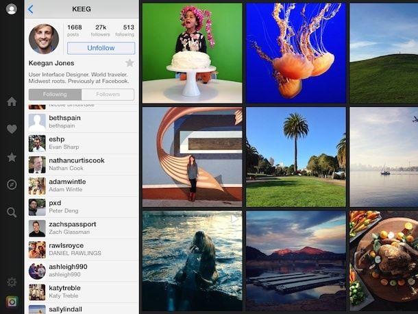 flow - instagram ipad