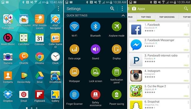 Android Galaxy S5