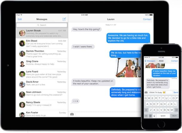 iMessage iphone 5s