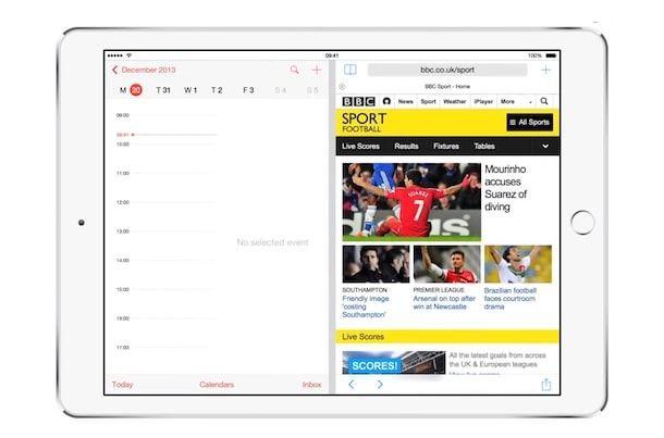 многозадачность для iPad в iOS 8
