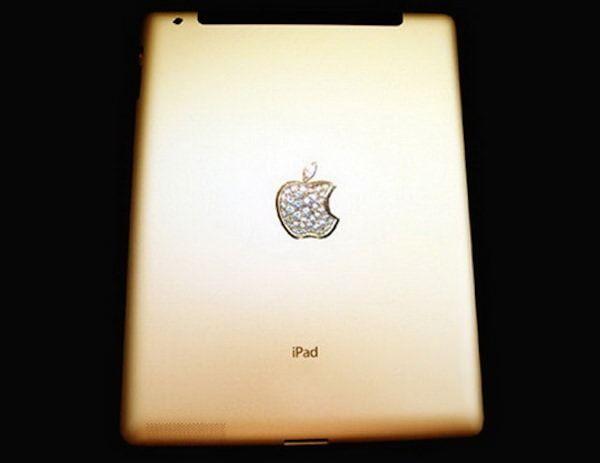 Самые дорогие iPad crystal gold edition