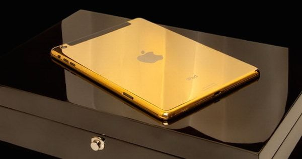 Самые дорогие iPad goldenie