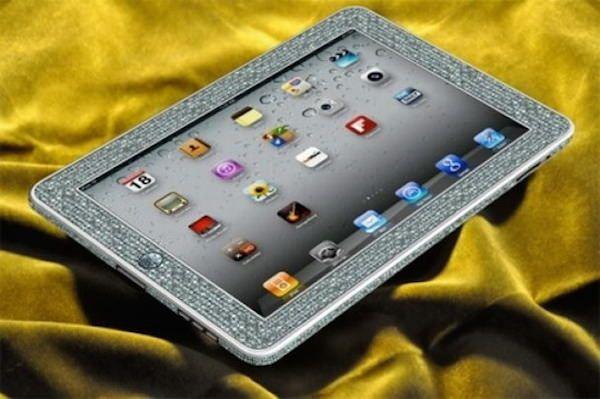 Самые дорогие iPad camael diamond