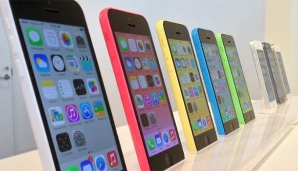 iPhone 5s в Apple Store