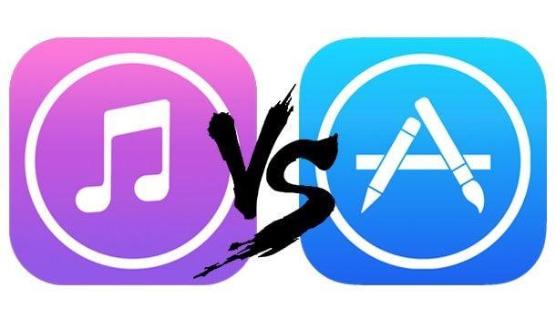 iTunes vs App Store