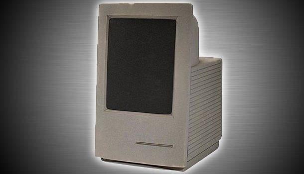Macintosh LS с вертикально ориентированным монитором