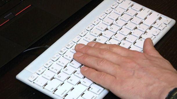 Type-Hover-Swipe клавиатура, управляемая жестами