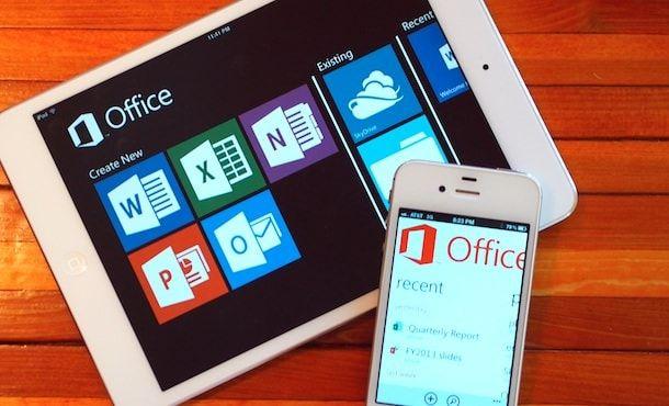 microsoft office для iPhone ipad
