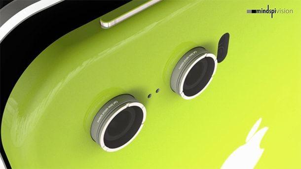 Mindspi Vision iPhone 6 камера