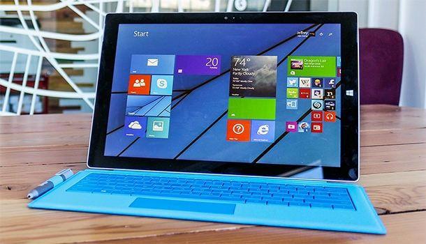 динамики Surface Pro 3