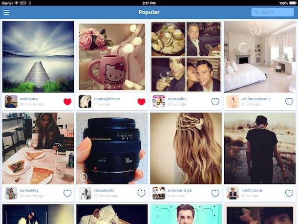 padgram instagram ipad