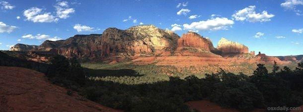 Панорамная съемка на iPhone