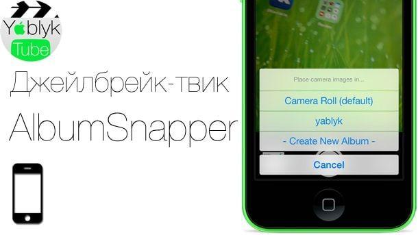 AlbumSnapper