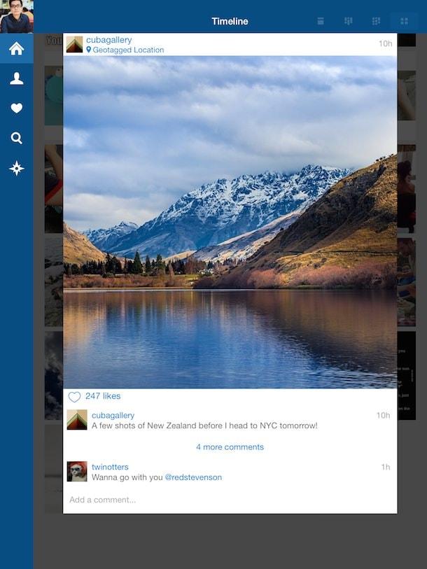 retro for instagram для iPad