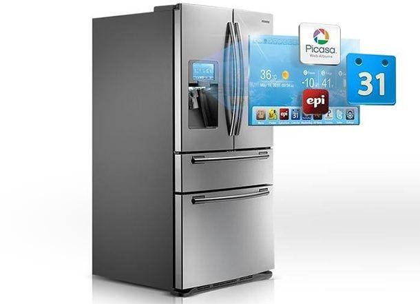 Умный холодильник Samsung