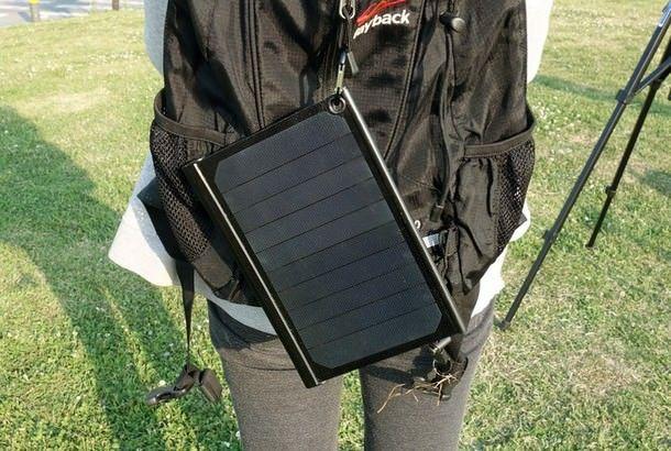солнечная батарея для iPhone и iPad