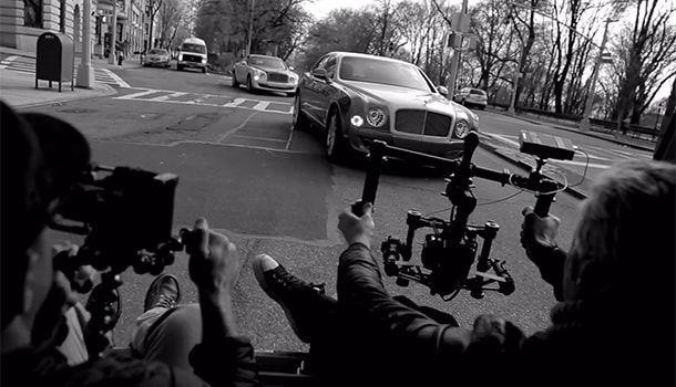 Съемки клипа Bentley