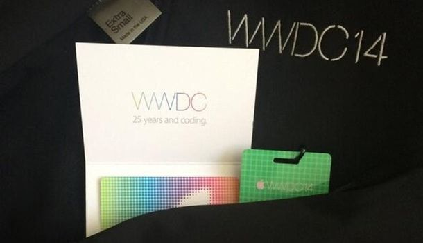 Сувениры WWDC 2014