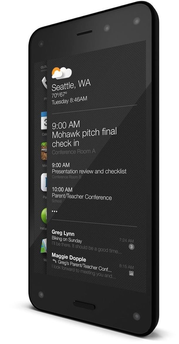 Amazon Fire Phone 3d