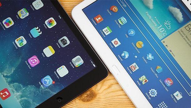 Apple iPad Air vs Samsung Galaxy Tab 3