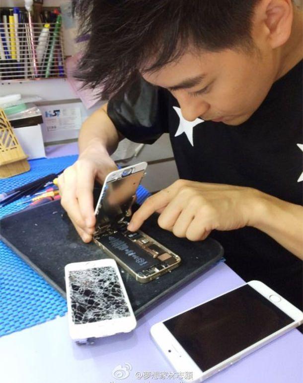 Джимми Лин и iPhone 6