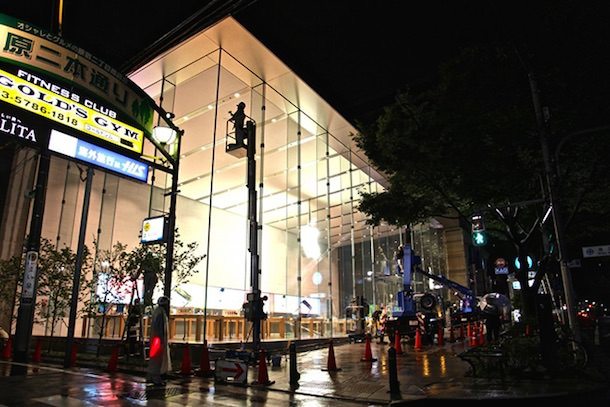 Apple Store в Японии